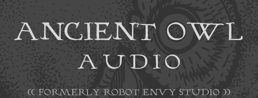 ANCIENT owl audio logo 8-12-16 INV Banner